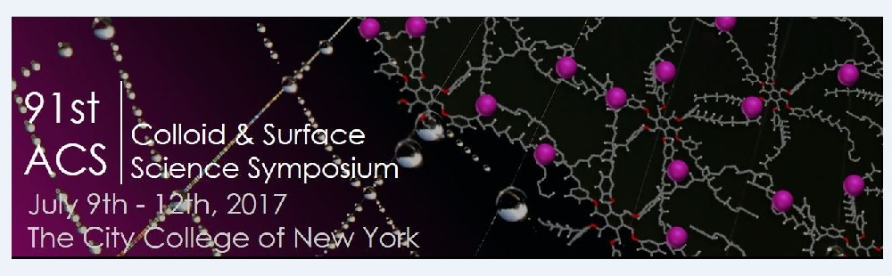 The 91st Annual Meeting of the American Chemical Society Division of Colloid and Surface Chemistry