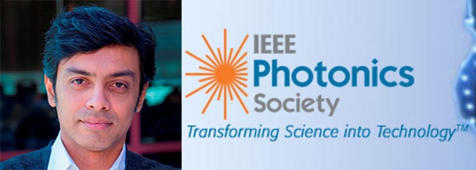 IDEALS Faculty, Vinod Menon, Named IEEE Photonics Society Distinguished Lecturer (2018-2019).