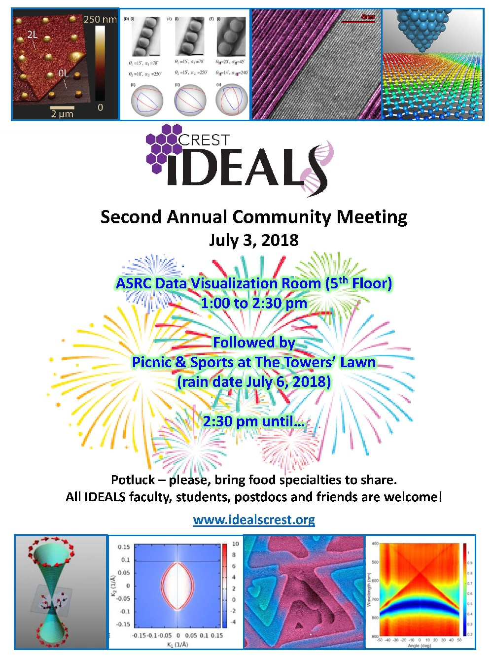 IDEALS 2nd Annual Community Meeting & Picnic